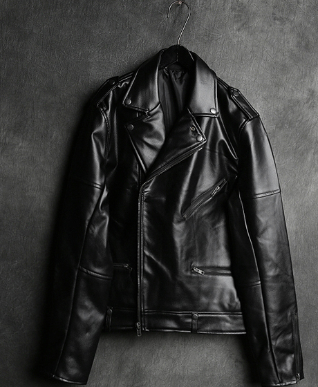 JK-6995MULTIPLEX ZIPPER RIDER JACKET멀티플렉스 지퍼 라이더 자켓Color : 1 colorMaterial : leather