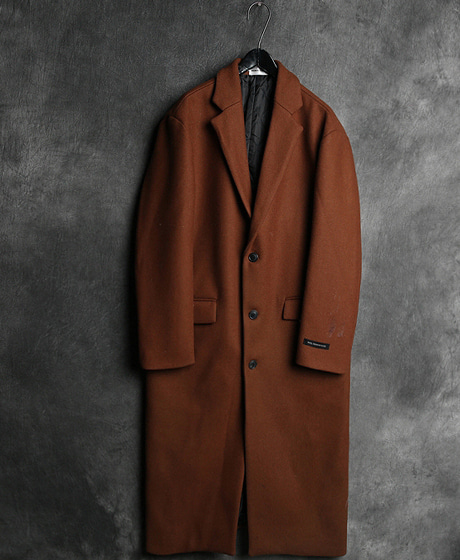 JK-7599BELT SINGLE BUTTON LONG COAT벨트 싱글 버튼 롱 코트Color : 3 colorMaterial : wool