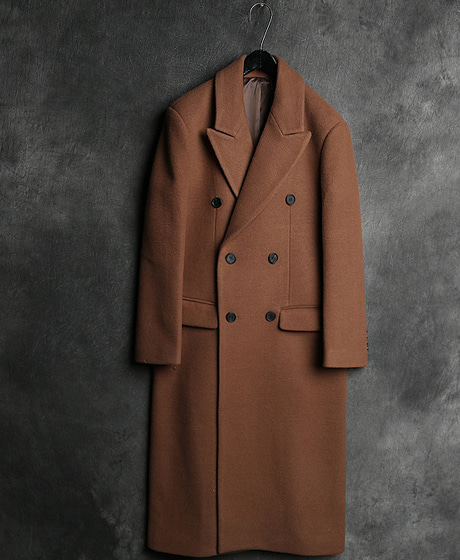 JK-7882CAMEL DOUBLE COAT카멜 더블 코트Color : 1 colorMaterial : wool