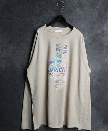 T-11413V PRINTING ROUND NECK TEEV 프린팅 라운드넥 티셔츠Color : 2 colorMaterial : cotton