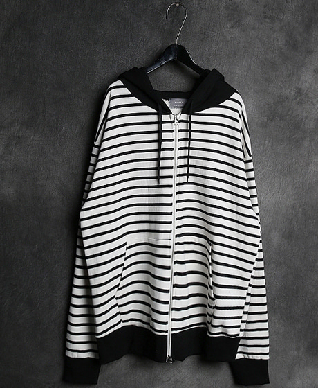 JK-8292COLOR SCHEME ZIP_UP HOODIE JACKET배색 집업 후드 자켓Color : 2 colorMaterial : cotton