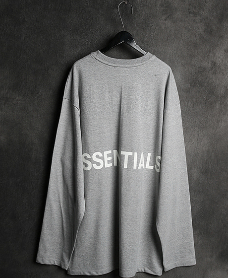 T-11760FOG ESSENTIALS PRINTING TEE에센셜 프린팅 티셔츠Color : 3 colorMaterial : cotton