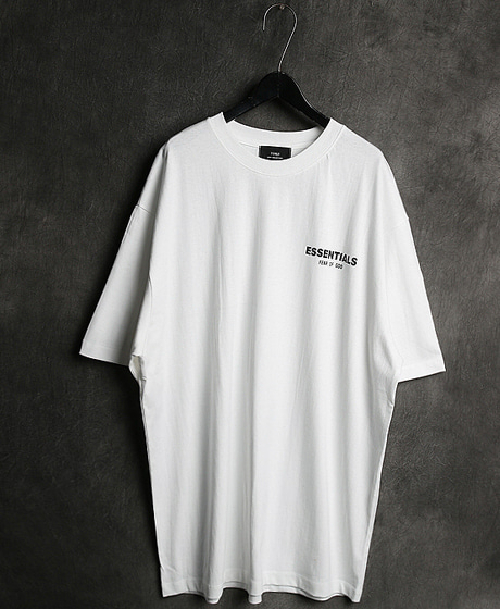 T-11987FOG LOGO PRINTING T-SHIRTFOG 로고 프린팅 티셔츠Color : 2 colorMaterial : cotton