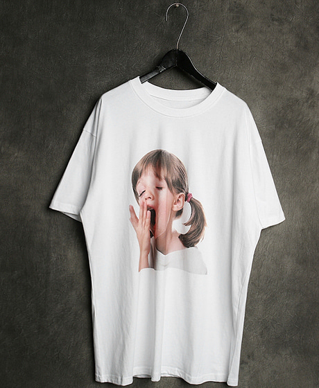 T-13124IMAGE PRINTING T-SHIRT이미지 프린팅 티셔츠Color : 2 colorMaterial : cotton