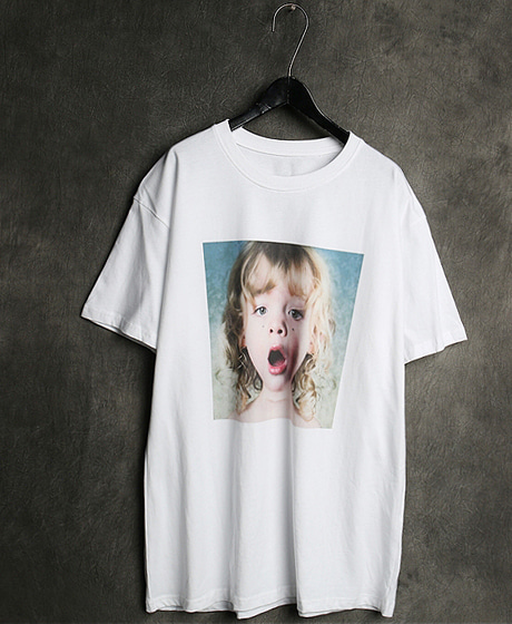 T-13134IMAGE PRINTING T-SHIRT이미지 프린팅 티셔츠Color : 2 colorMaterial : cotton