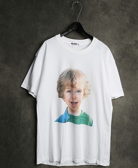 T-13129IMAGE PRINTING T-SHIRT이미지 프린팅 티셔츠Color : 2 colorMaterial : cotton