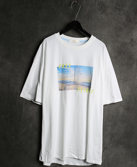 T-13061IMAGE PRINTING T-SHIRT이미지 프린팅 티셔츠Color : 2 colorMaterial : cotton