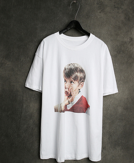 T-13123IMAGE PRINTING T-SHIRT이미지 프린팅 티셔츠Color : 2 colorMaterial : cotton