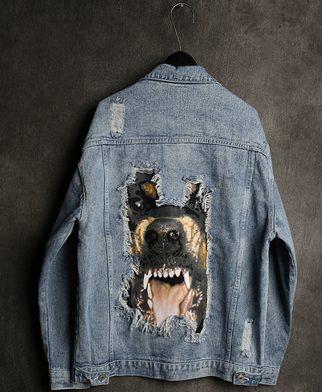 JK-8958ROTTWEILER DENIM JACKET로트와일러 데님 자켓Color : 1 colorMaterial : denim