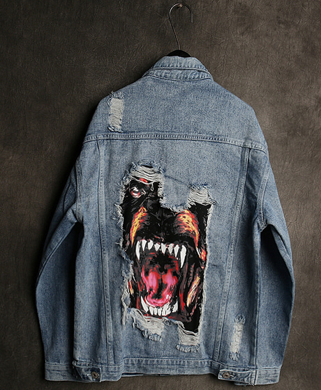 JK-8957DOBERMANN DENIM JACKET도베르만 데님 자켓Color : 1 colorMaterial : denim
