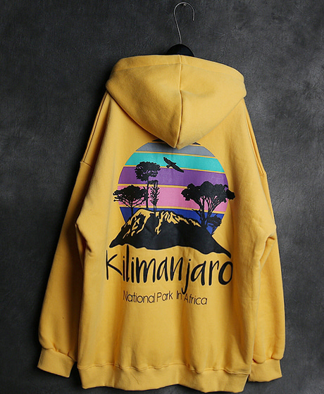 T-13930KILIMANJARO HOODIE TEE킬리만자로 후드티Color : 6 colorMaterial : cotton