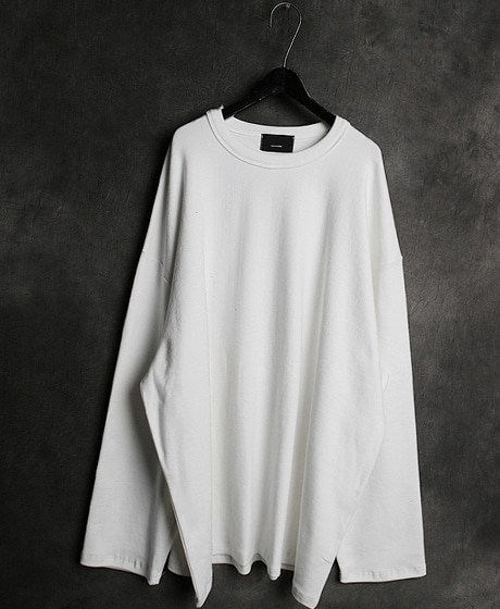 T-13882FLICE BOX LONG T-SHIRT후라이스 박스 롱 티셔츠Color : 3 colorMaterial : flice/cotton