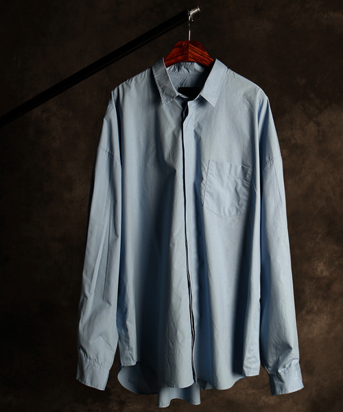 S-2679JJ side button shirt
