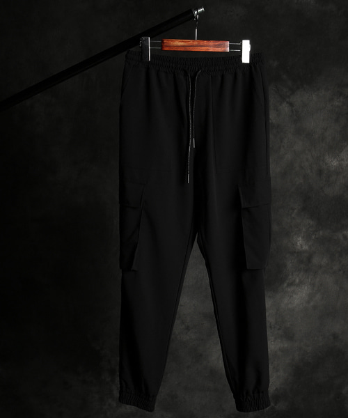 P-9714cargo slacks jogger pants
