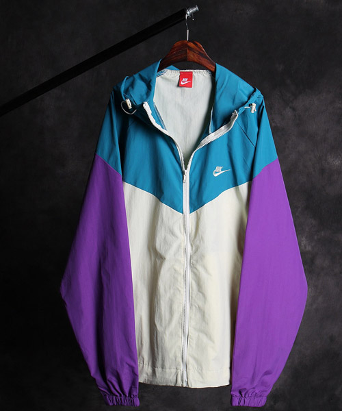 JK-11813NK color scheme zip-up jacket