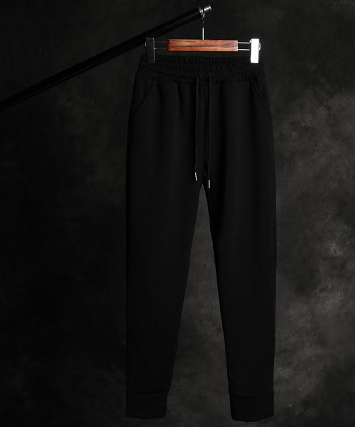 P-9843Layered hem pants